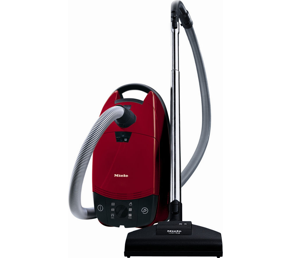 MIELE  Complete C1 Cat & Dog Extreme PowerLine Cylinder Vacuum Cleaner  Autumn Red Red