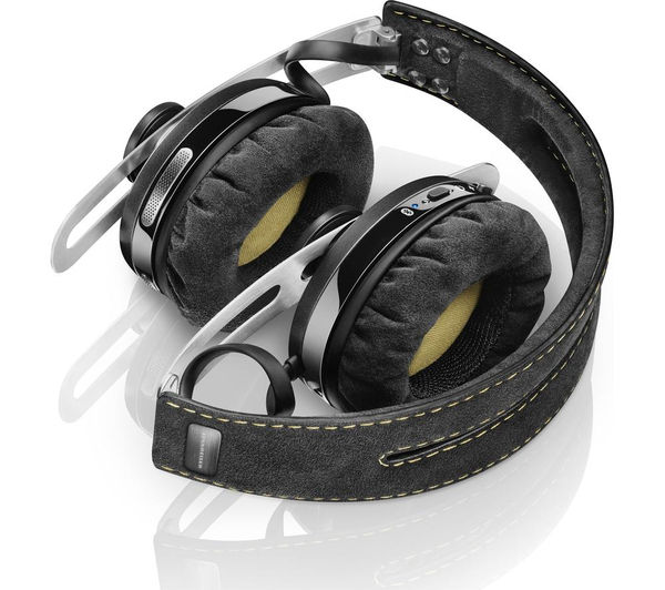 Image of SENNHEISER Momentum 2.0 O/E Wireless Bluetooth Noise-Cancelling Headphones - Black