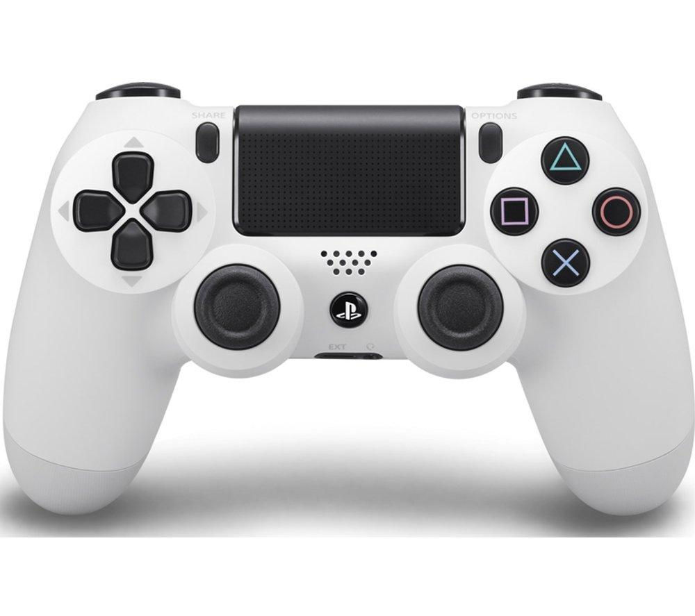 PLAYSTATION 4 DualShock 4 Wireless Gamepad - White