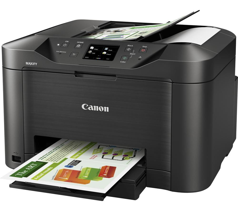 canon maxify mb5050 all in one wireless inkjet printer. Black Bedroom Furniture Sets. Home Design Ideas