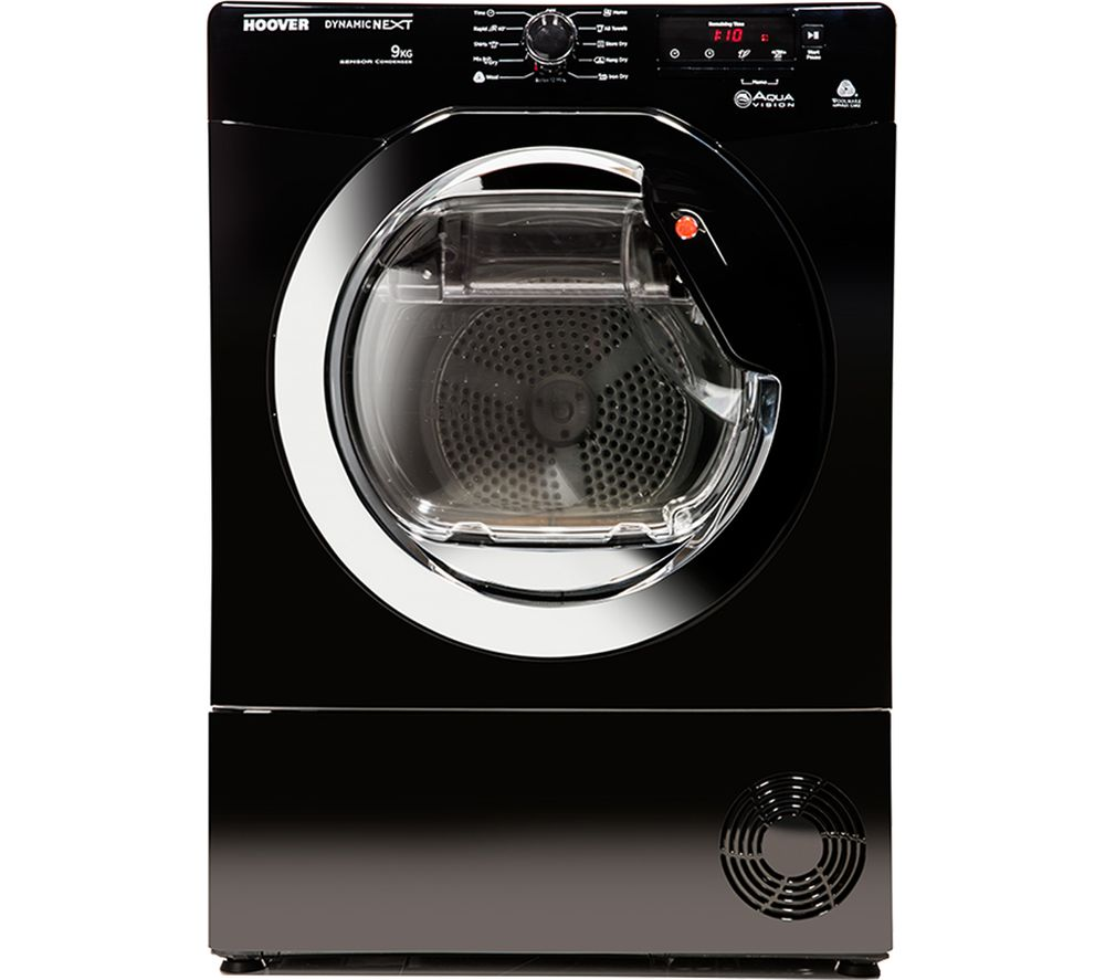 HOOVER DNCD913BB Freestanding Condenser Tumble Dryer - Black