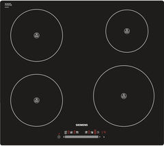 SIEMENS EH845FL17E Electric Induction Hob - Black