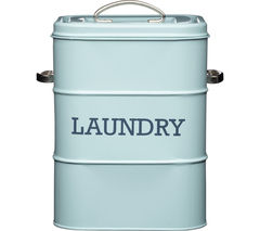 KITCHEN CRAFT Living Nostalgia Laundry Soap Canister - Blue