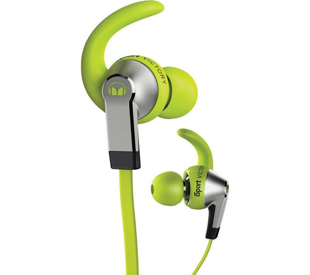 MONSTER iSport v2 Victory Headphones - Green