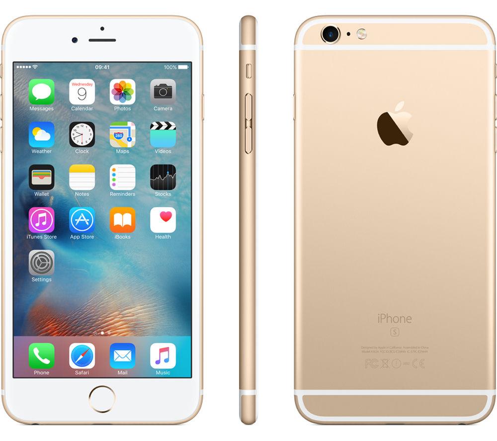 APPLE iPhone 6s Plus - 16 GB, Gold