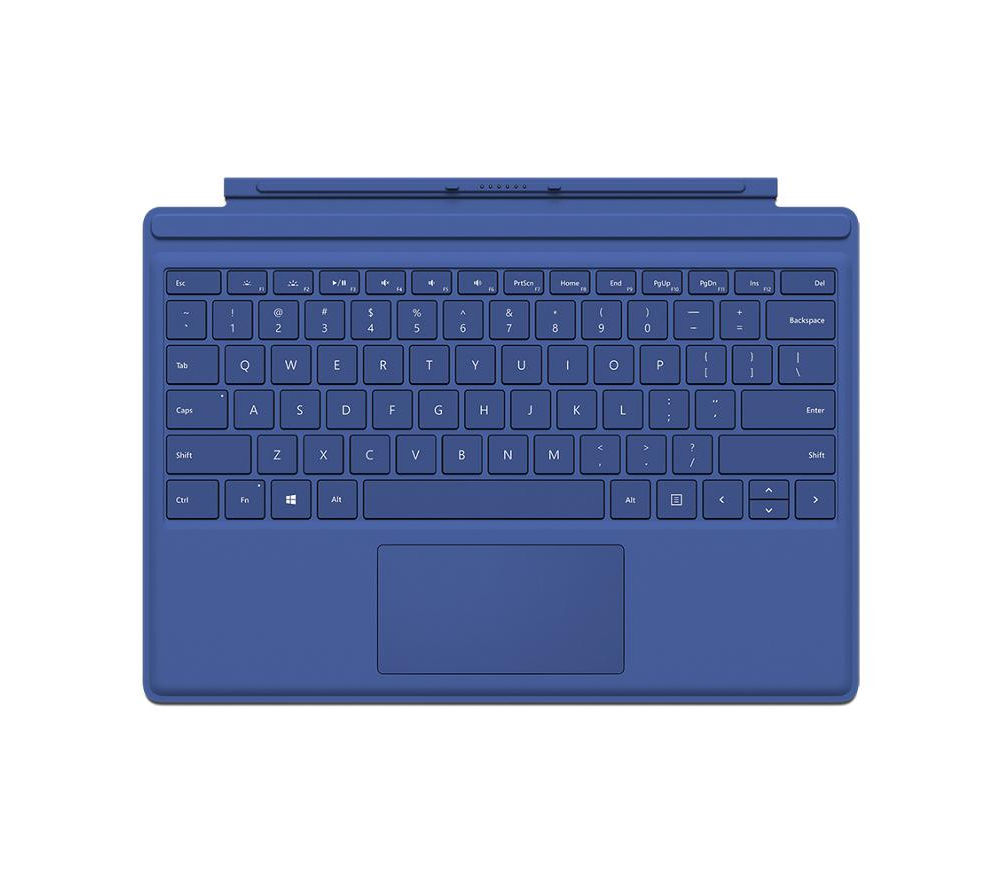 MICROSOFT Surface Pro 4 Typecover - Blue