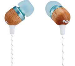 HOUSE OF MARLEY Smile Jamaica v2 Headphones – Blue & Brown