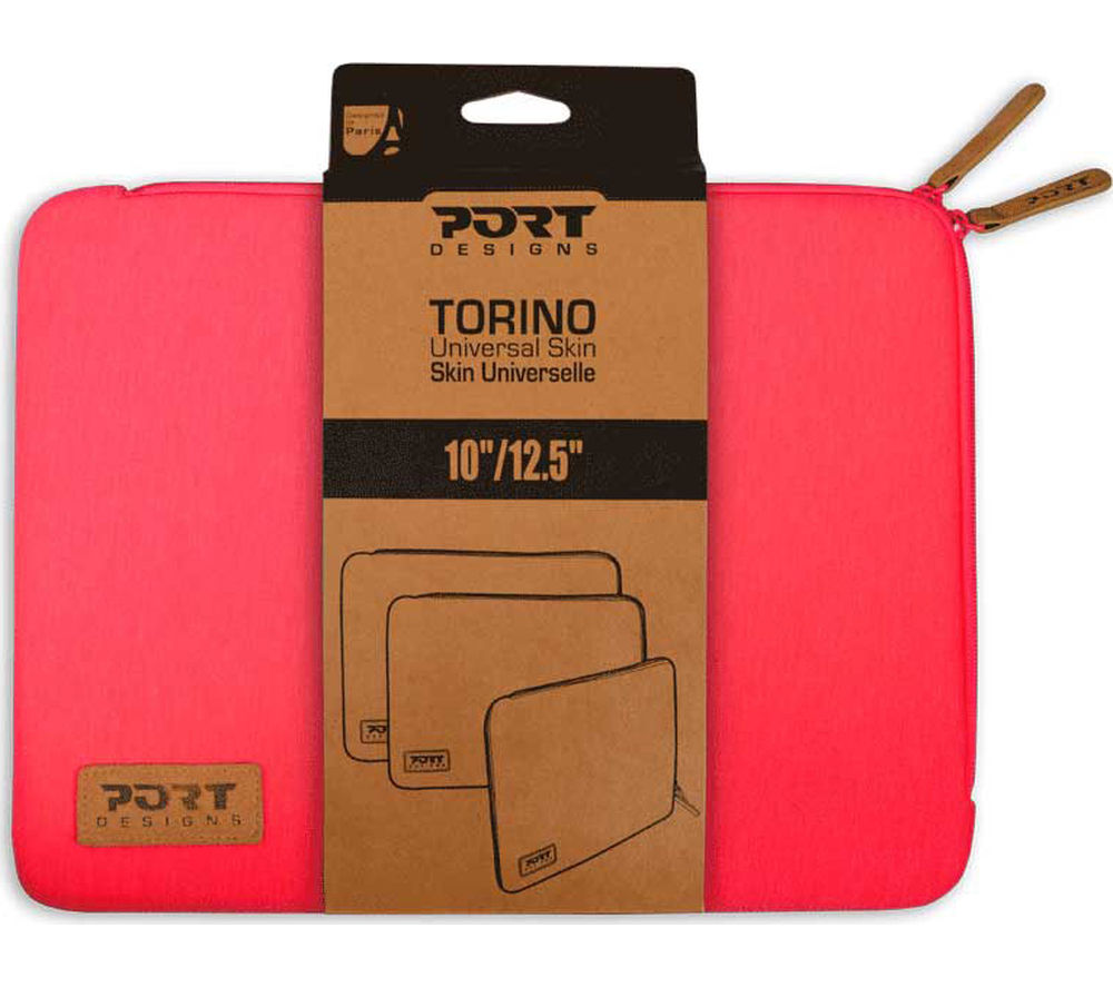 "Image of Port Designs Torino 10 - 12"" Laptop Sleeve - Pink"