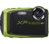 FUJIFILM XP90 Tough Compact Camera - Black & Green
