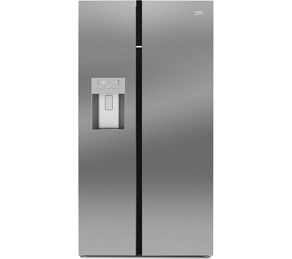 BEKO  ASGP342X AmericanStyle Fridge Freezer  Stainless Steel Stainless Steel