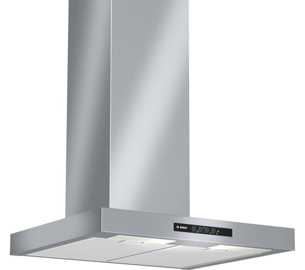 BOSCH  Serie 2 Classixx DWB06W452B Chimney Cooker Hood  Stainless Steel Stainless Steel