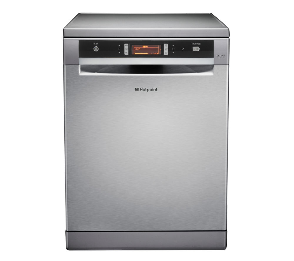 HOTPOINT  Ultima FDUD 43133X Fullsize Dishwasher  Stainless Steel Stainless Steel