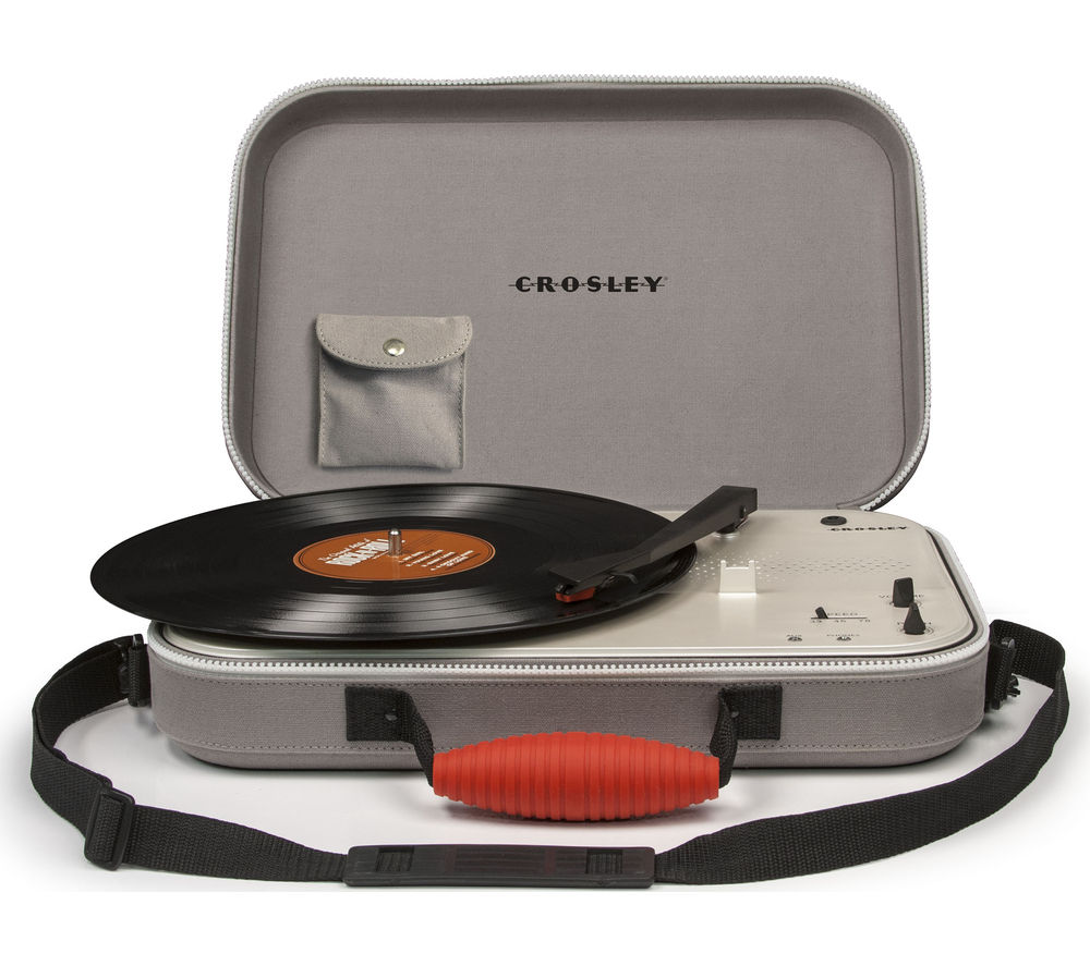 Click to view more of CROSLEY  Messenger Portable Turntable - Grey, Grey