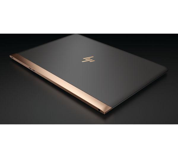 """Image of HP Spectre 13-v001na 13.3"""" Laptop - Dark Grey & Copper"""