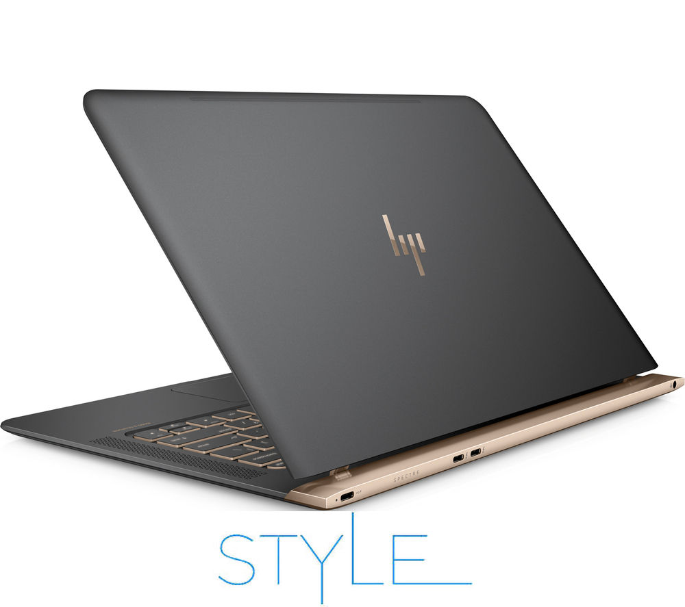 "HP Spectre 13-v051na 13.3"" Laptop - Dark Grey & Copper"