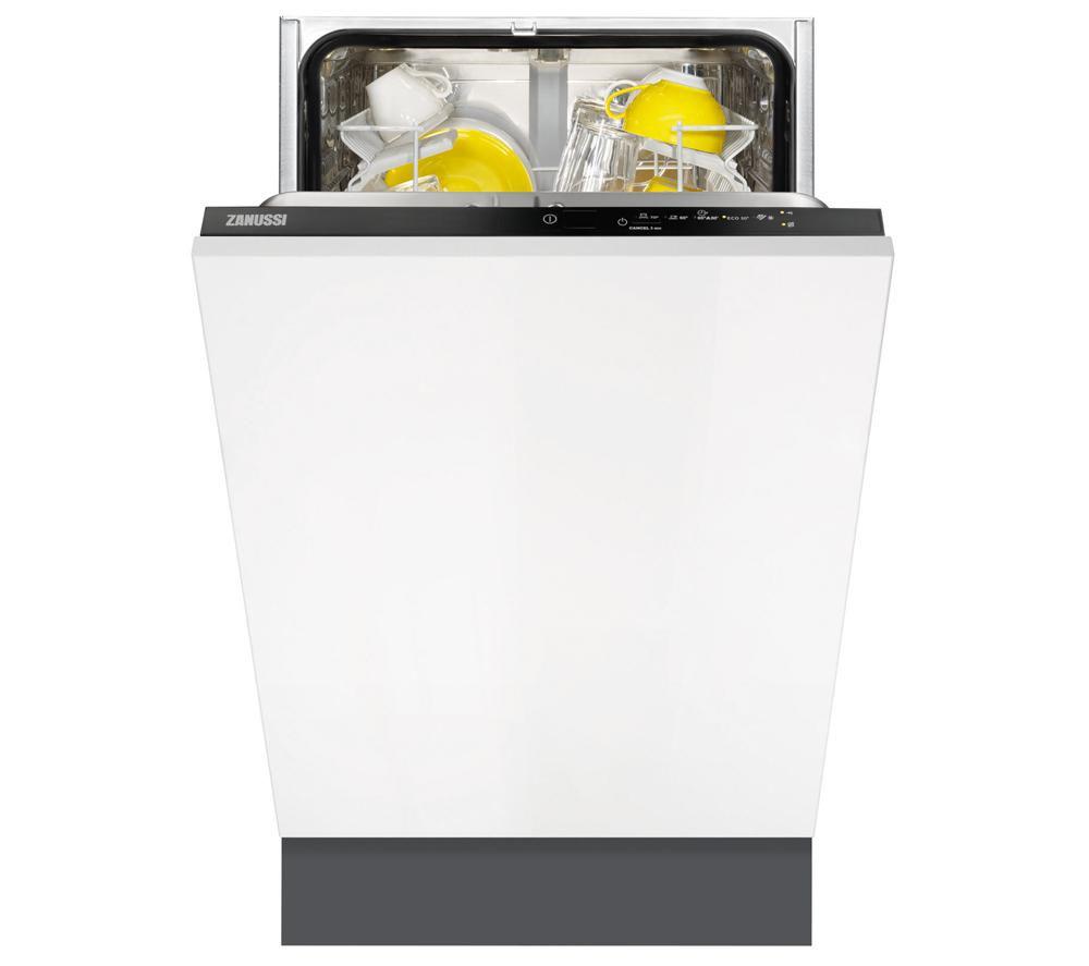 Zanussi ZDV12002FA Slimline Integrated Dishwasher