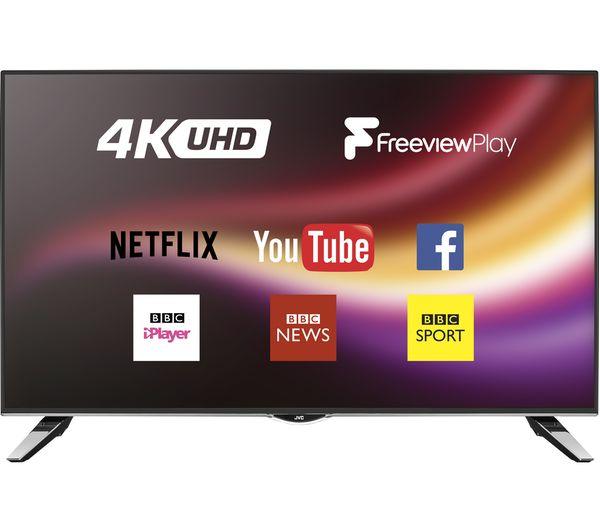 "Buy JVC LT-43C862 Smart 4K Ultra HD 43"" LED TV"