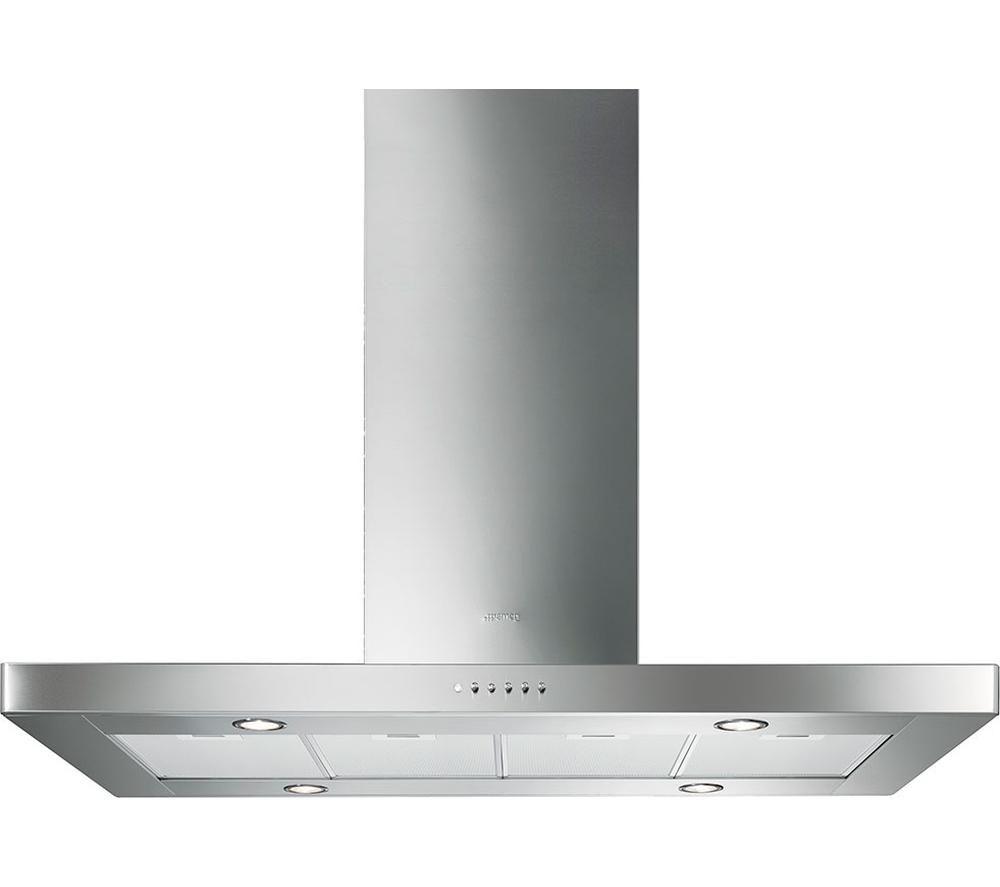 buy smeg ki120xe island cooker hood stainless steel. Black Bedroom Furniture Sets. Home Design Ideas