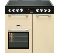 LEISURE Cookmaster CK90C230C 90 cm Electric Ceramic Range Cooker - Cream