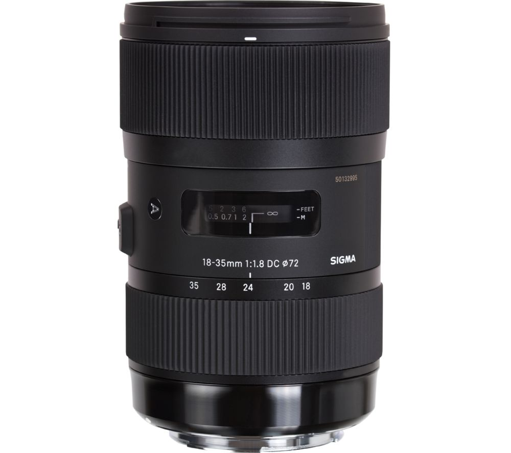 SIGMA 18-35mm f/1.8 DC HSM Standard Zoom Lens - for Canon
