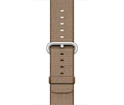 APPLE Watch 38 mm Toasted Coffee & Caramel Woven Nylon Band