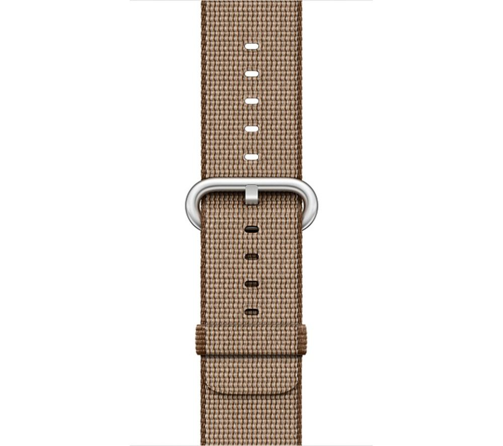Image of APPLE Watch 38 mm Toasted Coffee & Caramel Woven Nylon Band