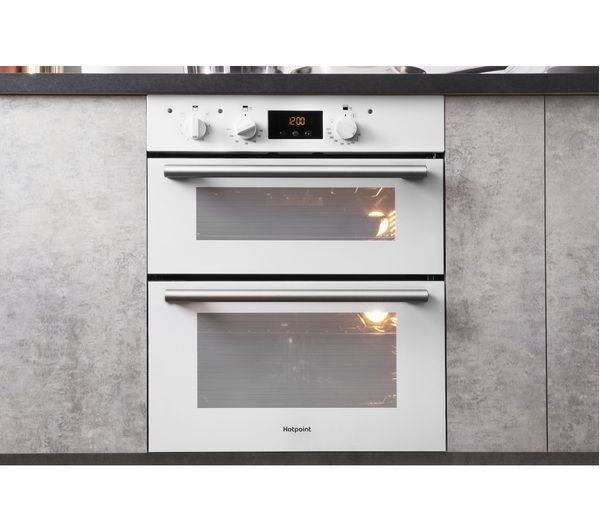 Under Counter Microwave For Easier Works: Buy HOTPOINT Class 2 DU2 540 Electric Built-under Double