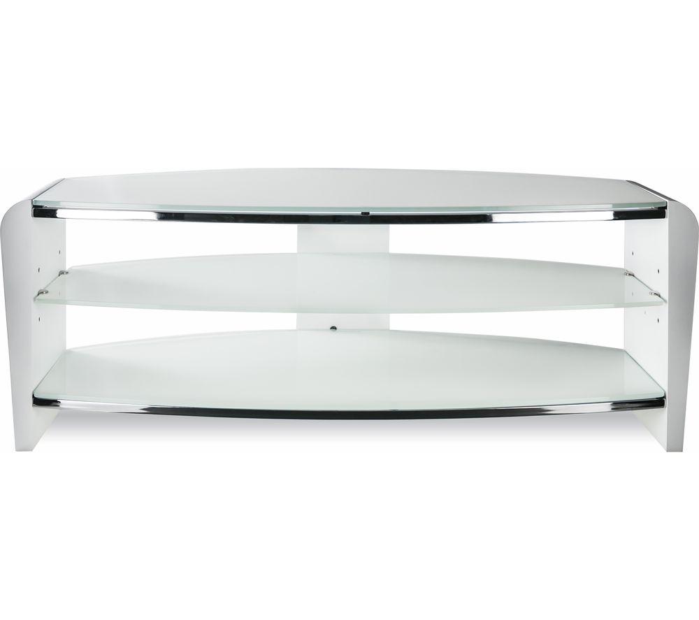 ALPHASON Francium 1400 TV Stand - White