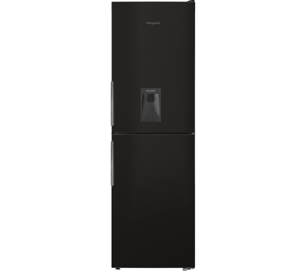 buy hotpoint xal85 t1i k wtd 50 50 fridge freezer black. Black Bedroom Furniture Sets. Home Design Ideas