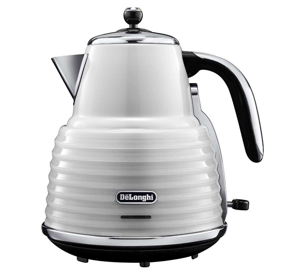 Buy Delonghi Scultura Kbz Jug Kettle White Free Delivery Currys