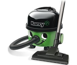 NUMATIC Harry Hoover HHR200-A2 Cylinder Vacuum Cleaner - Green