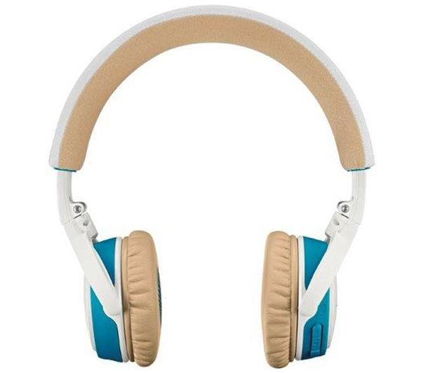 Image of BOSE SoundLink Wireless Bluetooth Headphones - White & Blue