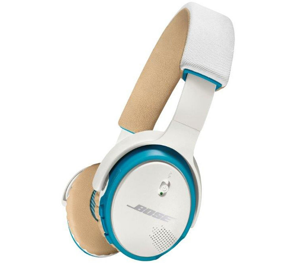 Buy BOSE SoundLink Wireless Bluetooth Headphones - White & Blue | Free ...