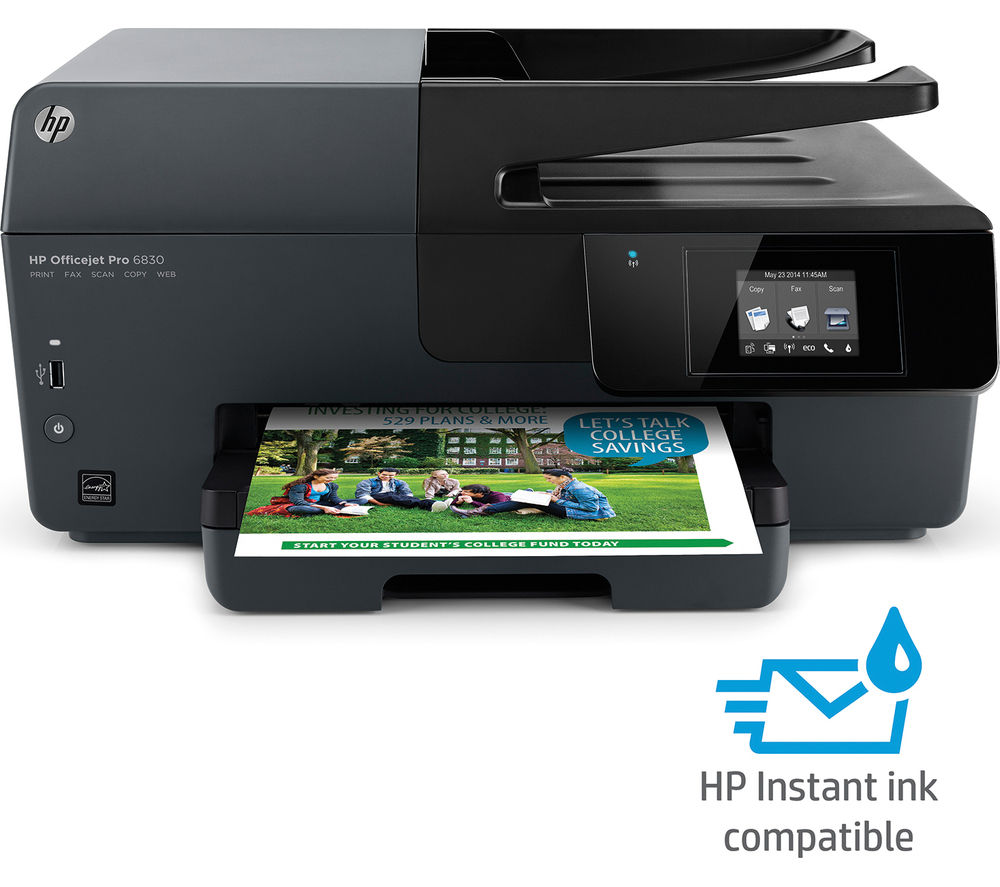 Buy HP Officejet Pro 6830 All-in-One Wireless Inkjet ...