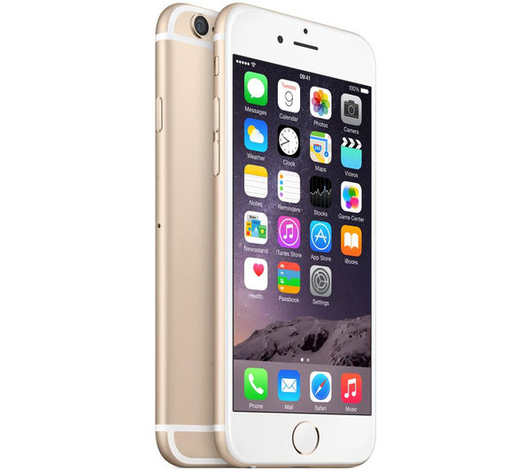 apple iphone 6 64 gb gold deals pc world. Black Bedroom Furniture Sets. Home Design Ideas