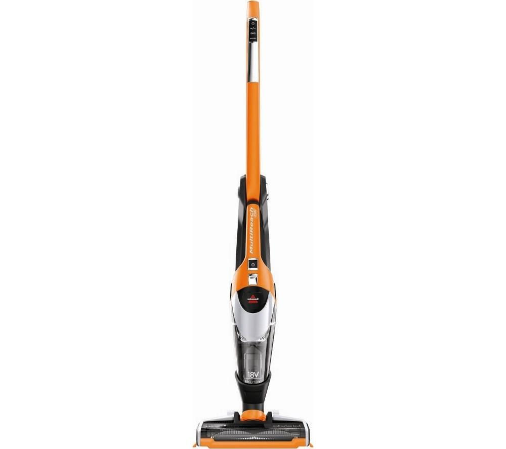 BISSELL MultiReach 18V Cordless Vacuum Cleaner - Orange & Grey