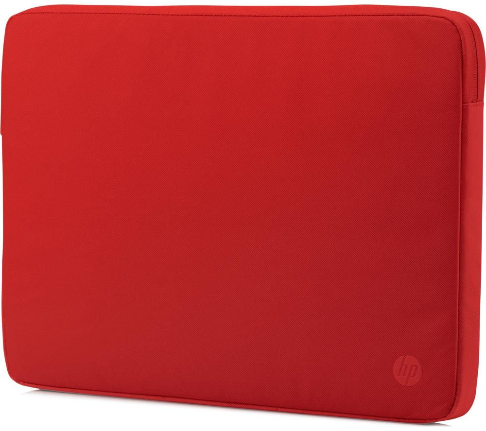 "Image of HP Spectrum 14"" Laptop Sleeve - Sunset Red, Red"