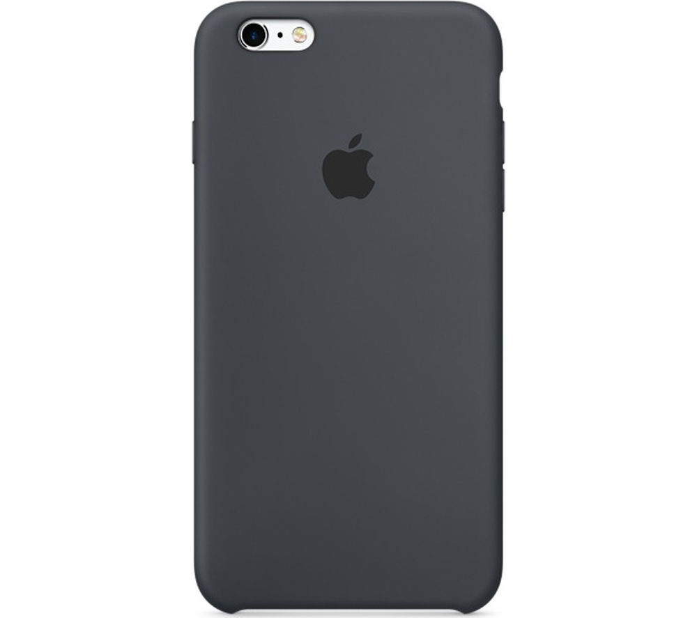 APPLE Silicone iPhone 6s Plus Case - Charcoal Grey