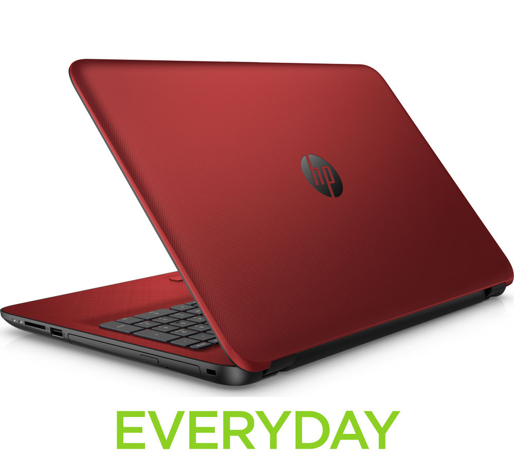 "Image of HP 15-af163sa 15.6"" Laptop - Red, Red"