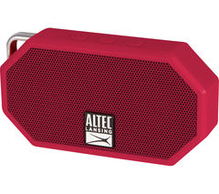 ALTEC LANSING Mini H20 II Portable Wireless Speaker - Red
