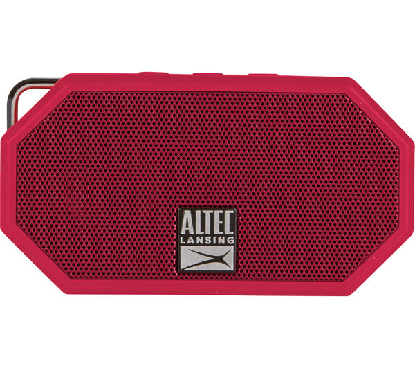 Image of ALTEC LANSING Mini H20 II Portable Wireless Speaker - Red