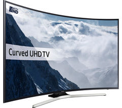 "SAMSUNG UE40KU6100 Smart 4K Ultra HD HDR 40"" Curved LED TV"