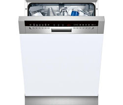 NEFF S42M69N0GB Full-size Semi-Integrated Dishwasher