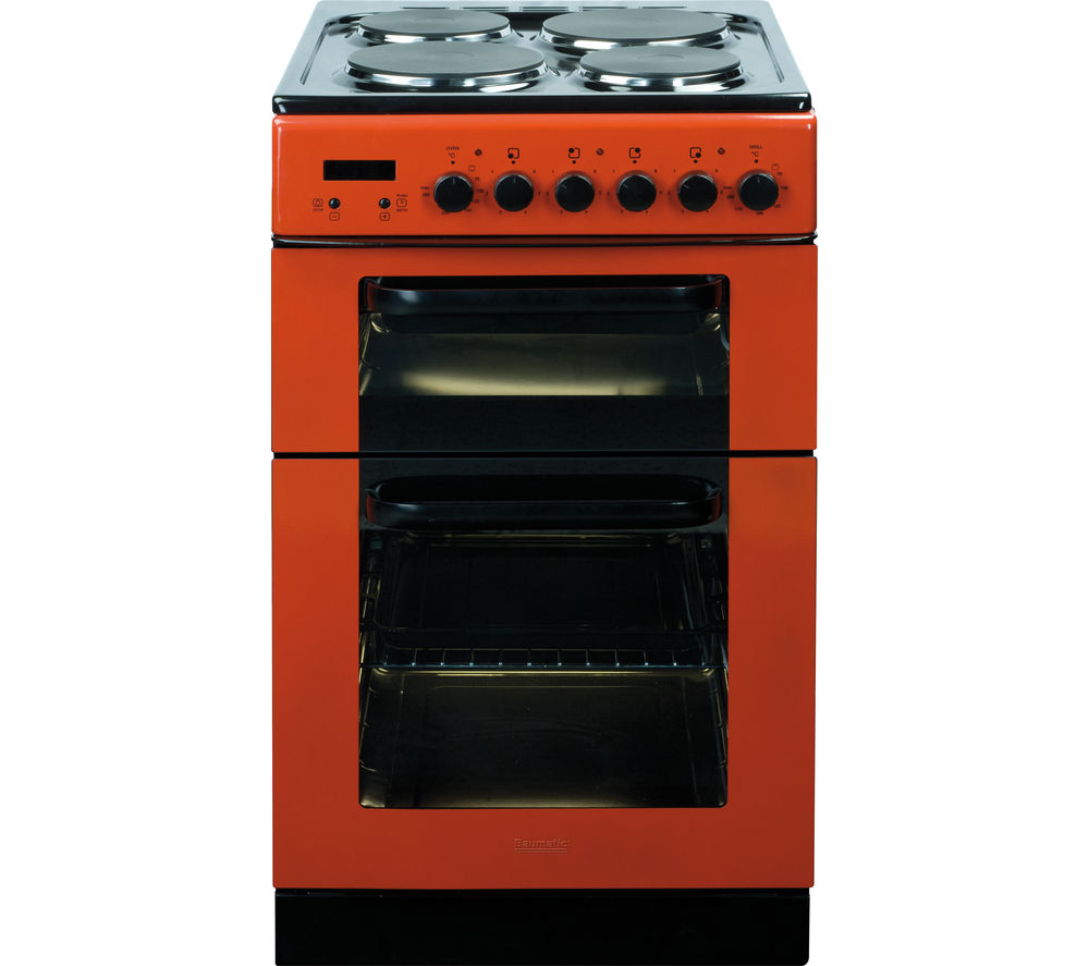 BAUMATIC  BCE520R Electric Solid Plate Cooker  Red Red