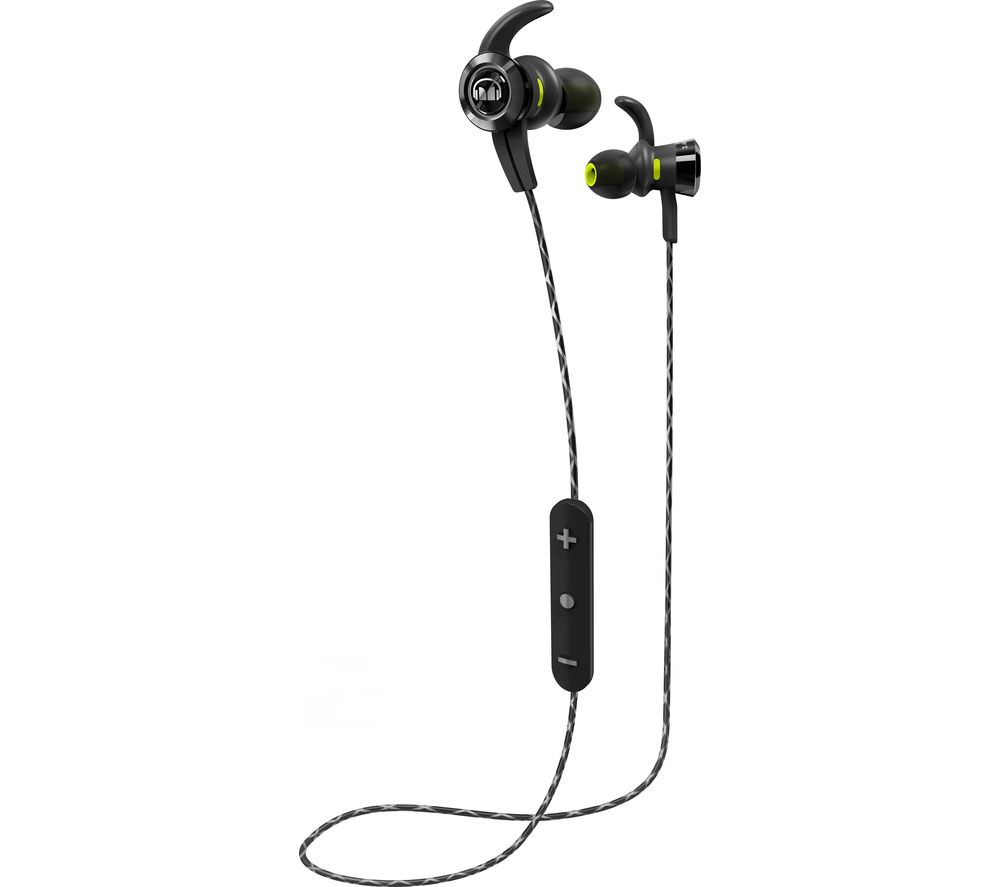 Click to view more of MONSTER  iSport Victory In-Ear Wireless Bluetooth Headphones - Black, Black