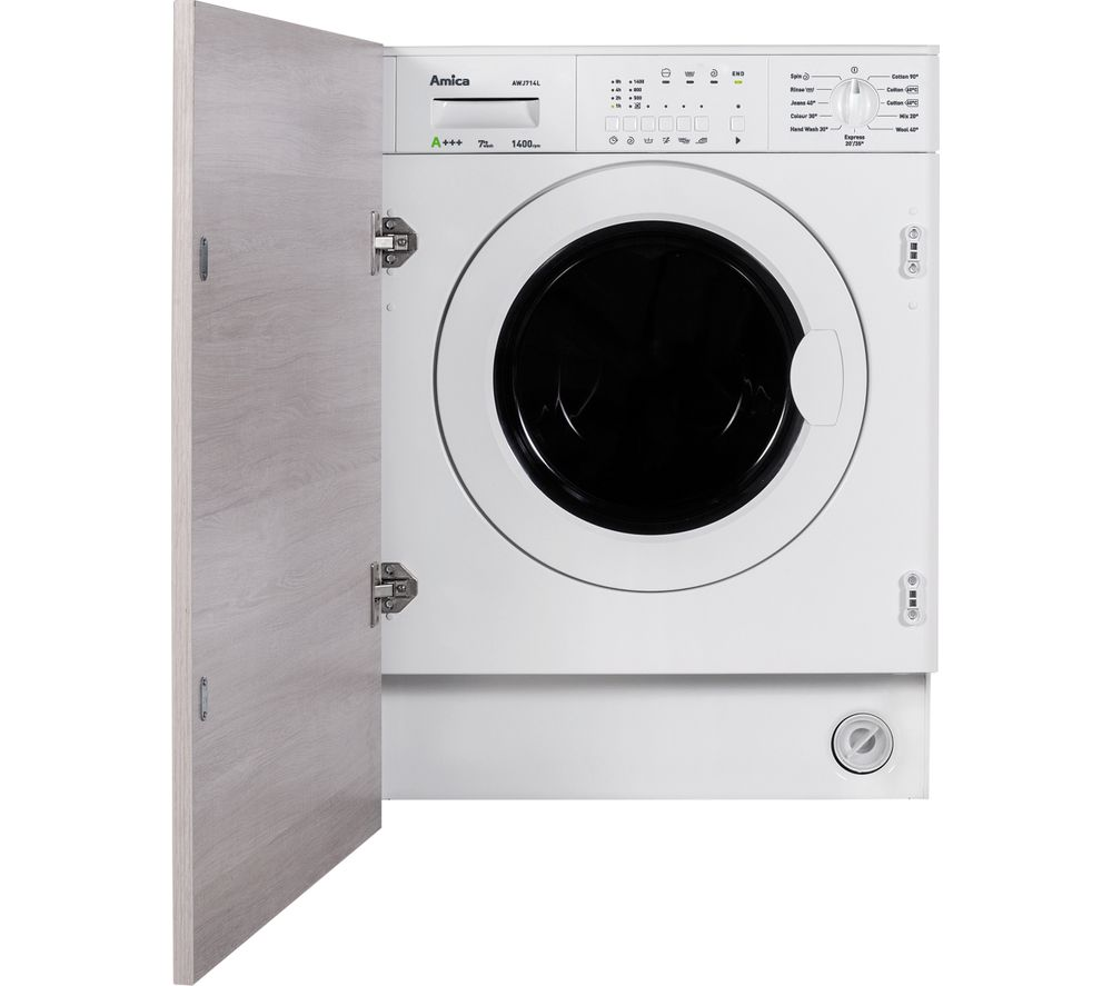 buy amica awj714l integrated washing machine white. Black Bedroom Furniture Sets. Home Design Ideas