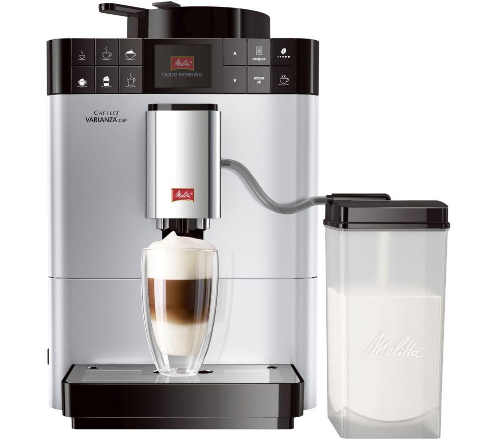MELITTA Caffeo Varianza CSP F57/0-101 Bean to Cup Coffee Machine - Silver