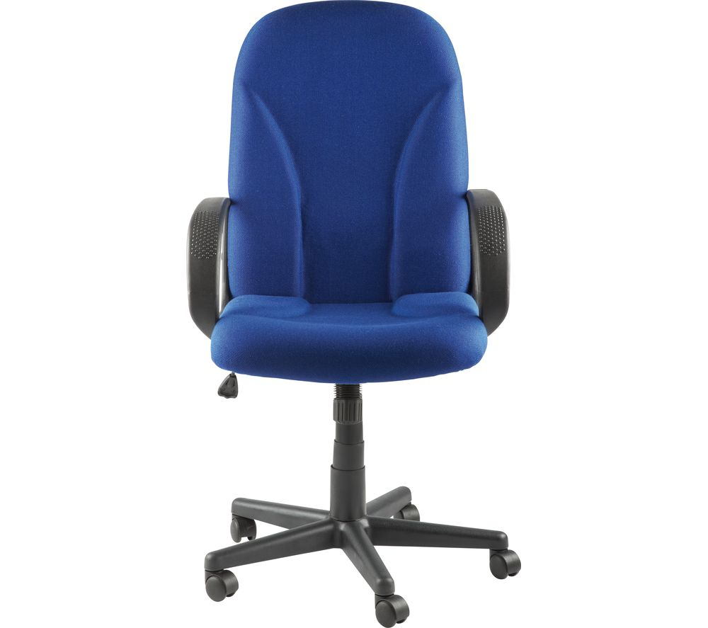 ALPHASON Boston AOC3282-BE Fabric Tilting Executive Chair - Blue
