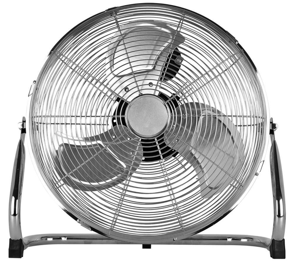 "STATUS High Velocity 16"" Portable Fan - Chrome"
