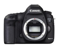 CANON EOS 5D Mark III DSLR Camera - Black, Body Only